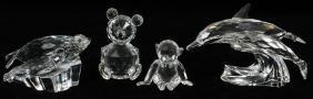 Swarovski Crystal Collection Four Pieces