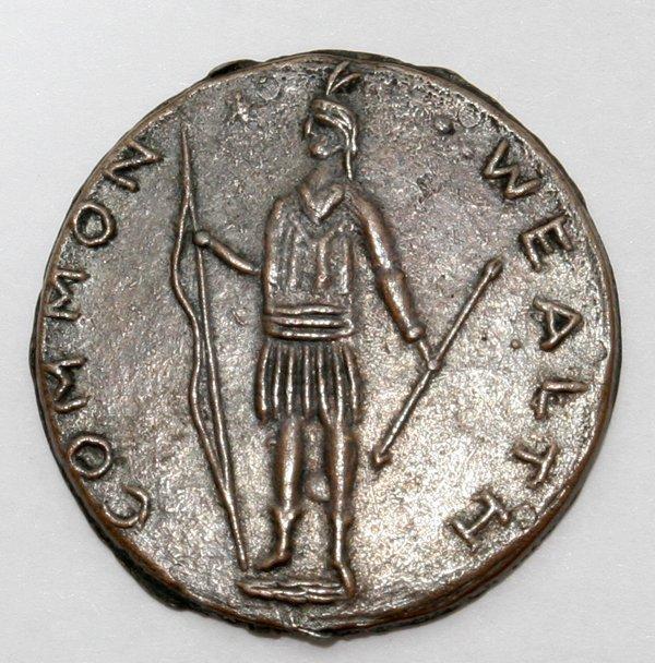 commonwealth massachusetts coin 1788