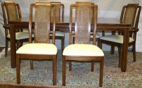 THOMASVILLE 'MYSTIQUE' DINING ROOM SET, 7 PCS.