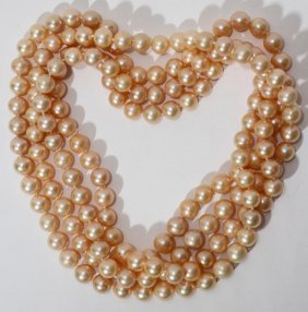 9.5-10.0MM PEARL NECKLACE 32""