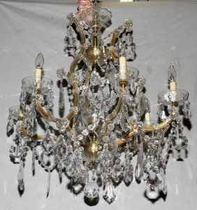 VOID- FOUND CORRECT OWNER AUSTRIAN CHANDELIER,