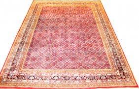 Persian Bijar Hand Woven Wool Rug