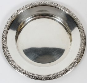 International 'prelude' Sterling Plate