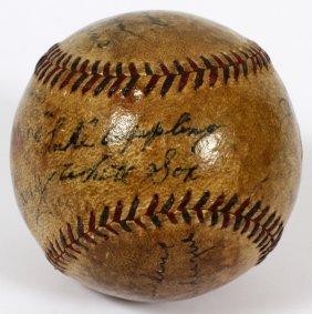 1931-35 Browns, White Sox & Robins Signed Baseball