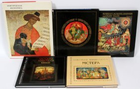 Russian Folk Art And Lacquer Box Reference Books