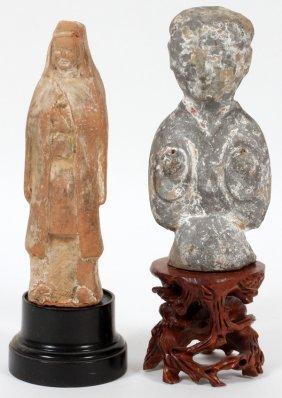 Egyptian Stone Figures Two