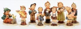 Hummel Bisque Figurines Nine