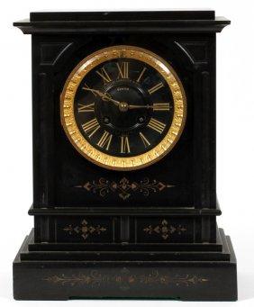Golay Leresche & Fils Belgian Marble Mantel Clock