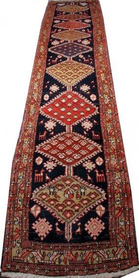 Bakhtiar Persian Runner Antique