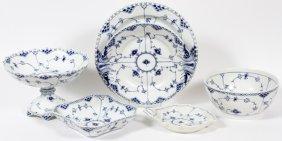 Royal Copenhagen 'blue Fluted' Porcelain Dishes