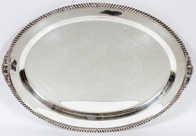 International 'lord Robert' Sterling Platter