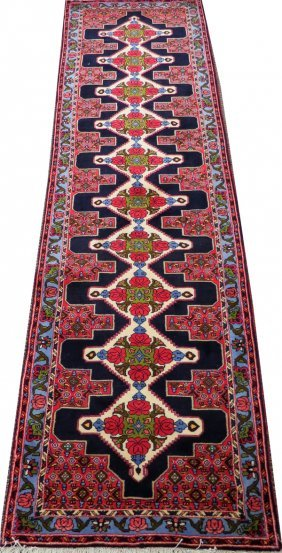 Bijar Persian Wool Runner