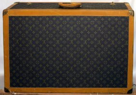 Louis Vuitton Style Hard Sided Suitcase
