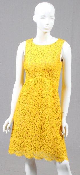 Michael Kors Cotton Lace Dress