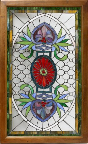 Stained & Leaded Glass Window