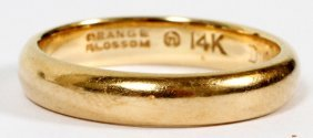 14kt Yellow Gold Lady's Wedding Band