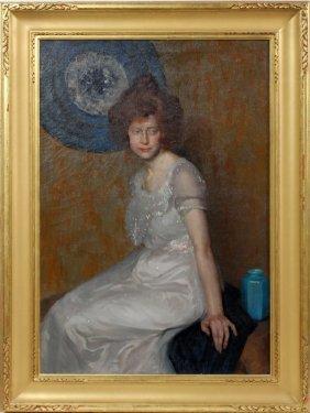 Will Rowland Davis Oil On Canvas