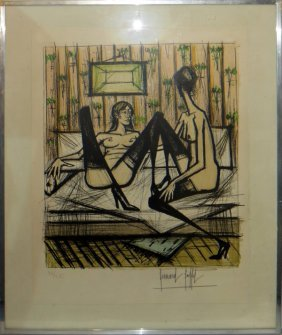 Bernard Buffet Color Lithograph