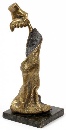 Luis Gagliastri Bronze Sculpture 1989