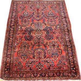 Sarouk Persian Rug Semi-antique