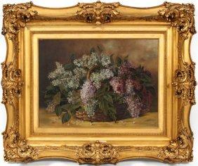 M.a.g. Parson Oil On Canvas 1896