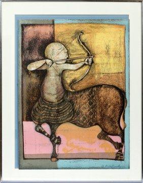 Graciela Rodo Boulanger Lithograph 1976