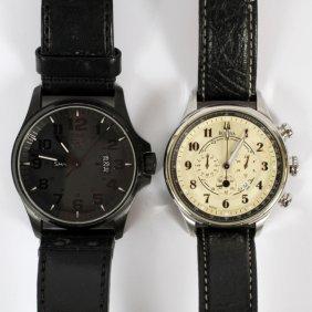 Bulova And Luminox Gentleman's Watches, Two