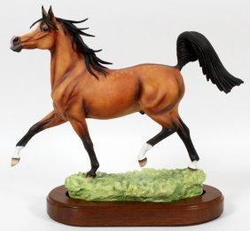 Connoisseur Of Malvern Porcelain Figure 1985