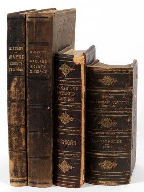 Hard Bound Books. History Of Washtenaw County