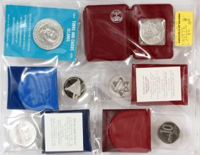 Jewish Canadian Coin Collection Six Sets
