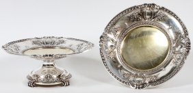 Gorham Sterling Compotes C. 1912 Pair