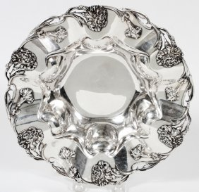 Frank M. Whiting Co. Sterling Fruit Bowl