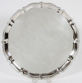 Gorham 'chippendale' Sterling Tray
