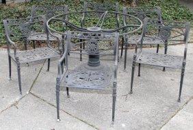Patio Furniture Set Seven Pieces