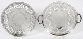 English Sterling Fruit Bowl London 1896-97