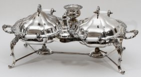 Silverplate Chafing Dishes