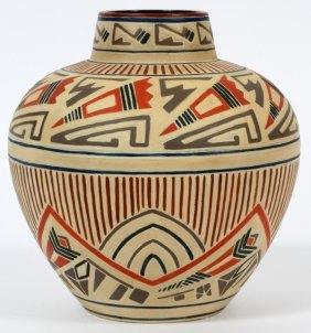 Austrian Santa Fe Pottery Vase
