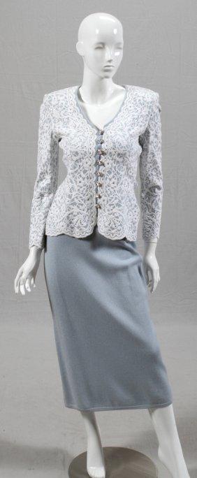 St. John Evening By Marie Gray Skirt Suit
