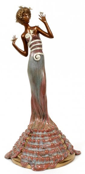 Erte Bronze Sculpture #26/37