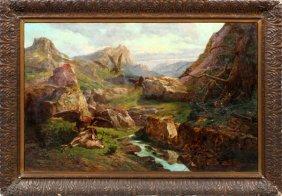 John (giovanni) Califano Oil On Canvas