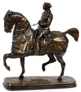 Emmanuel De Santa Coloma Bronze Sculpture