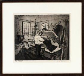 Will Barnet Etching C. 1936