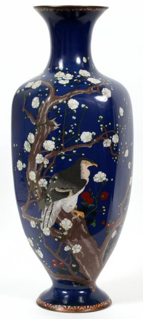Japanese Cloisonne Vase 19th.c.