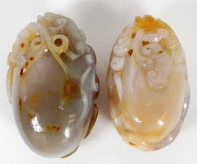Chinese Agate Carvings Two