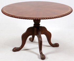 Chippendale Style Mahogany Breakfast Table