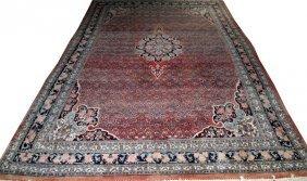 Persian Bijar Wool Carpet C. 1940-1950