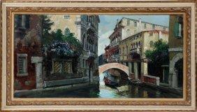 Gino Salviati Oil On Canvas
