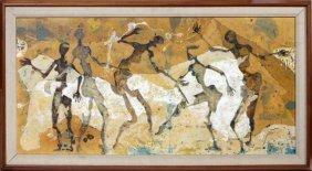 Ernest Hardman Oil Painting