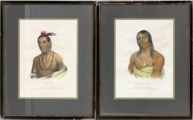 Mckenny & Hall Hand Colored Lithographs 2