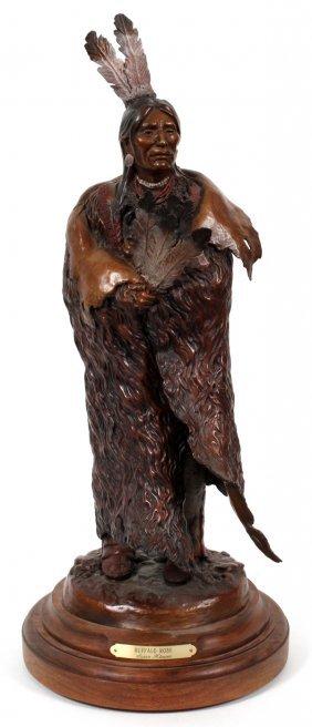 Susan Kliewer Bronze Buffalo Robe Ap 1/45